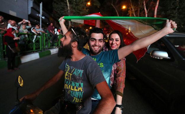 Radość na ulicach Teheranu /AFP