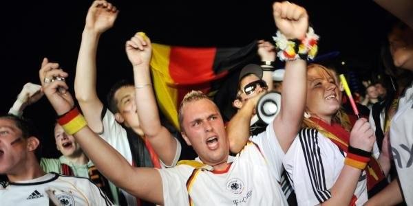 Radość niemieckich fanów /AFP