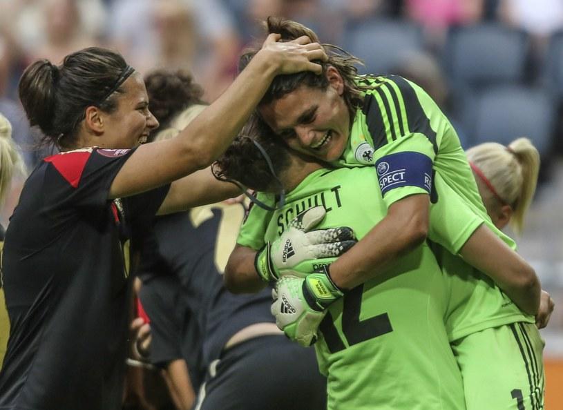 Radość piłkarek Niemiec. Po raz szósty z rzędu zostały mistrzyniami Europy /PAP/EPA