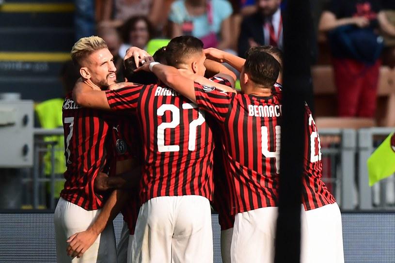 Radość piłkarzy AC Milan /AFP