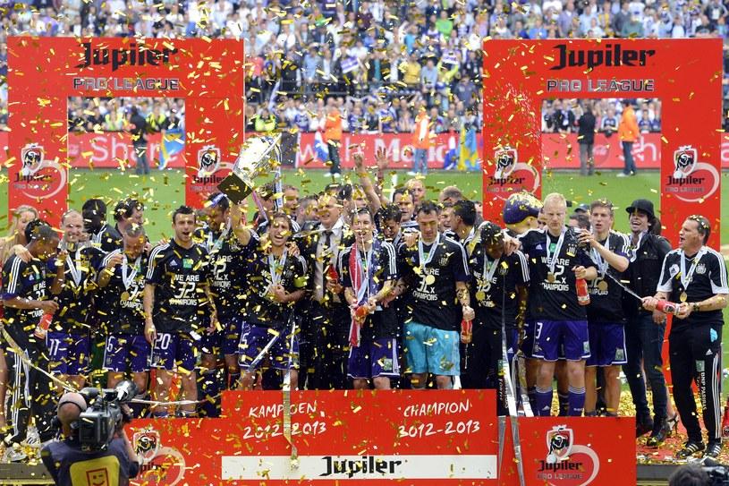 Radość piłkarzy Anderlechtu /AFP