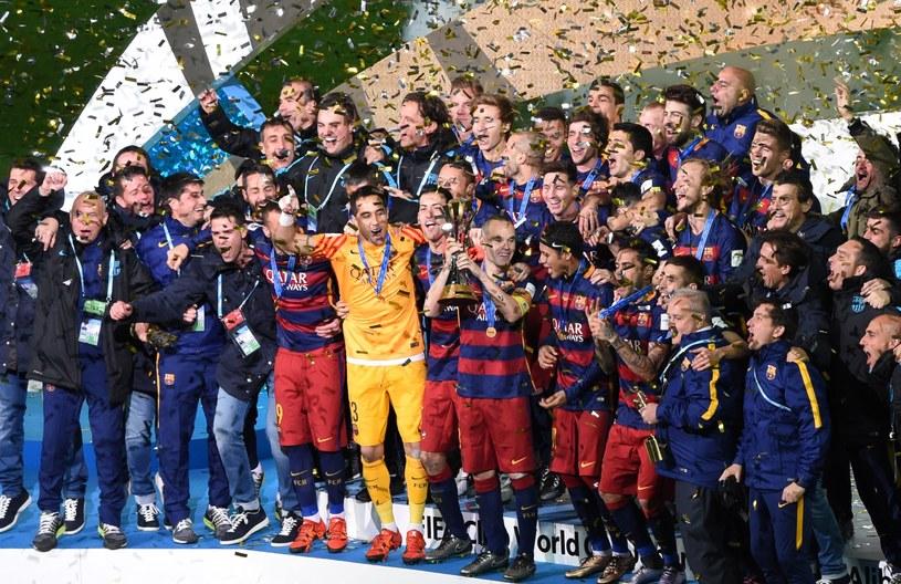 Radość piłkarzy Barcelony /AFP