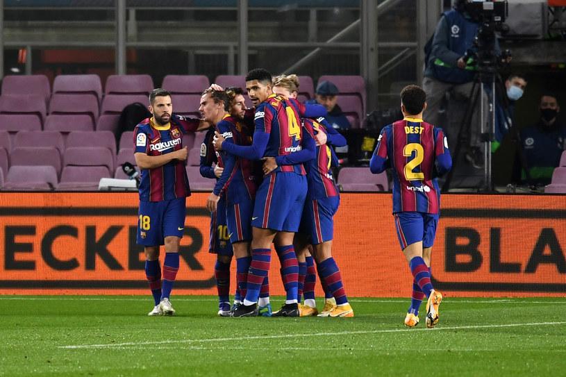 Radość piłkarzy Barcelony /David Ramos /Getty Images