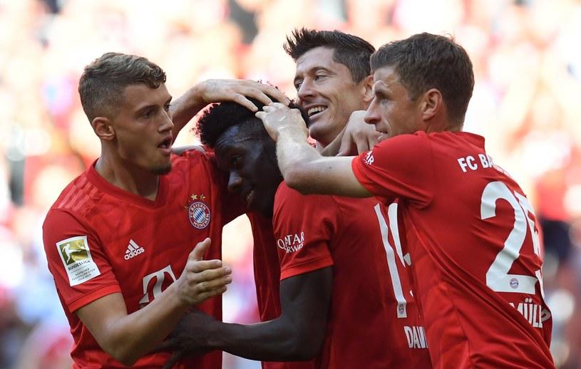 Radość piłkarzy Bayernu /AFP