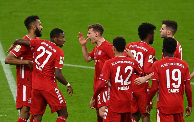 Radość piłkarzy Bayernu /Getty Images