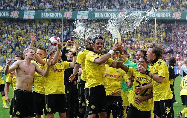 Radość piłkarzy Borussii Dortmund /AFP