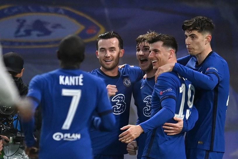 Radość piłkarzy Chelsea /GLYN KIRK /AFP