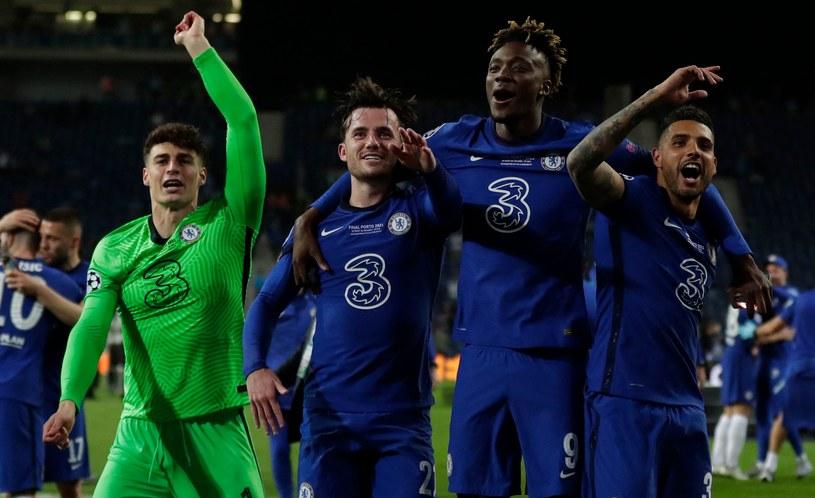 Radość piłkarzy Chelsea /Manu Fernandez / POOL /AFP
