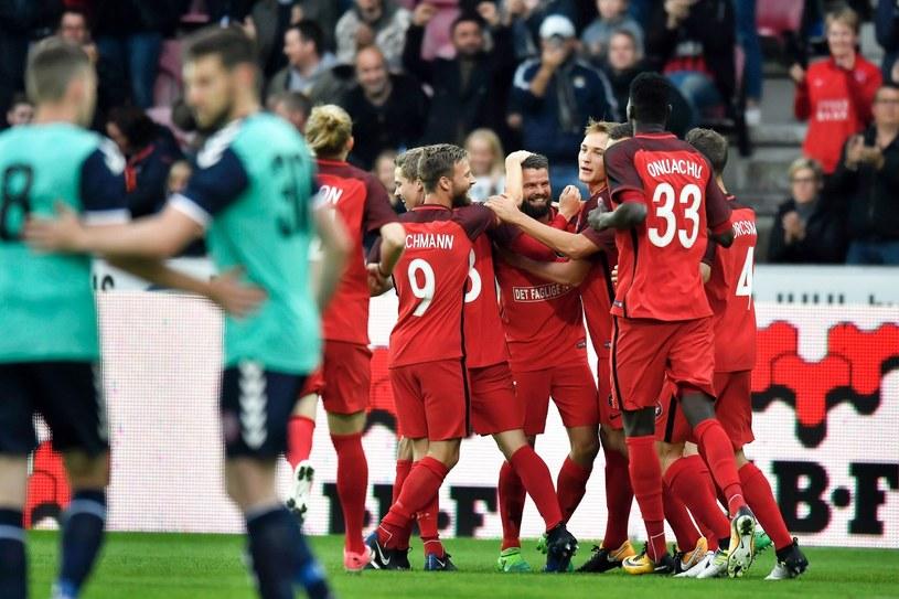 Radość piłkarzy FC Midtjylland /AFP