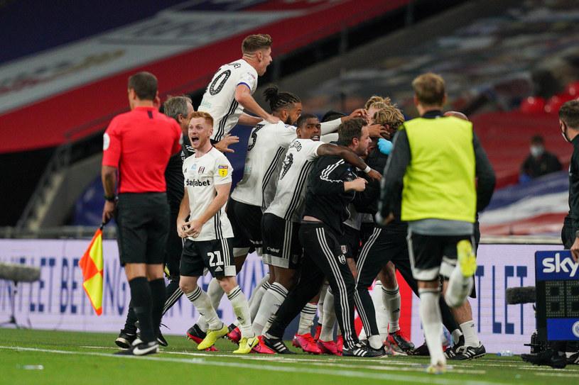 Radość piłkarzy Fulham /East News