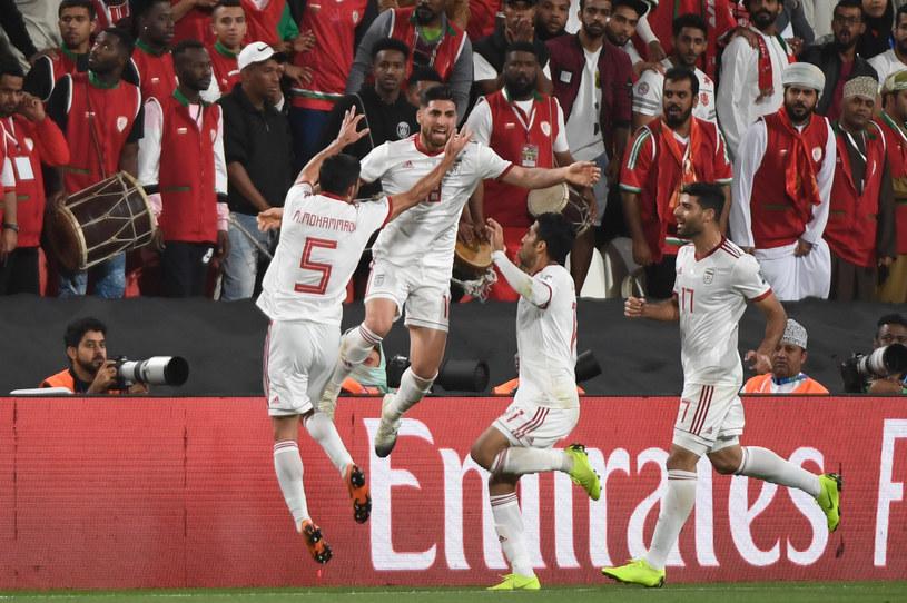Radość piłkarzy Iranu /AFP