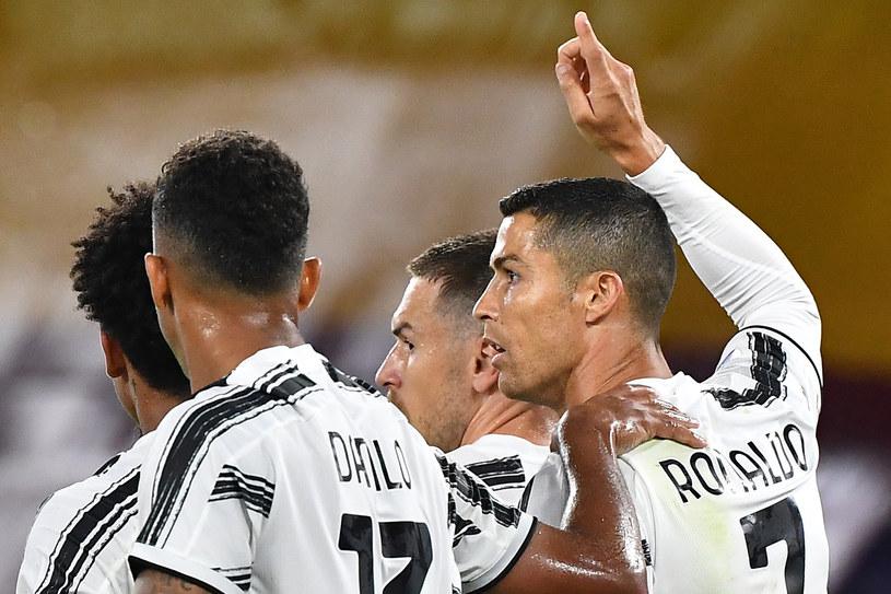 Radość piłkarzy Juventusu / TIZIANA FABI /AFP