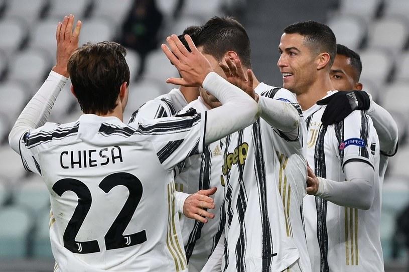 Radość piłkarzy Juventusu /AFP