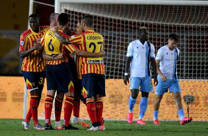 Radość piłkarzy Lecce /Getty Images