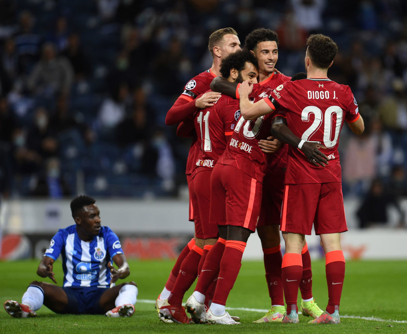Radość piłkarzy Liverpoolu /John Powell/Liverpool FC  /Getty Images