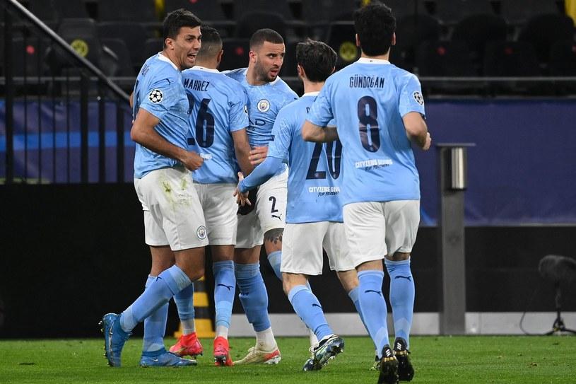 Radość piłkarzy Manchesteru City /AFP