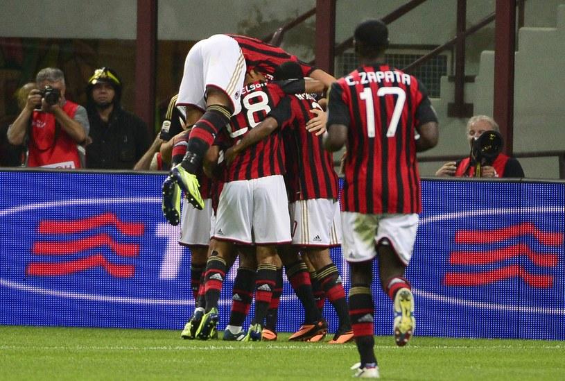Radość piłkarzy Milanu /AFP