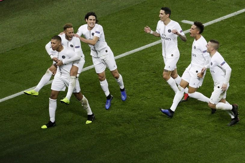 Radość piłkarzy PSG /AFP