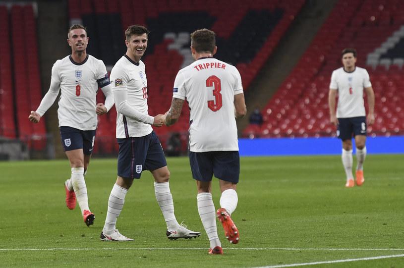 Radość piłkarzy reprezentacji Anglii /East News