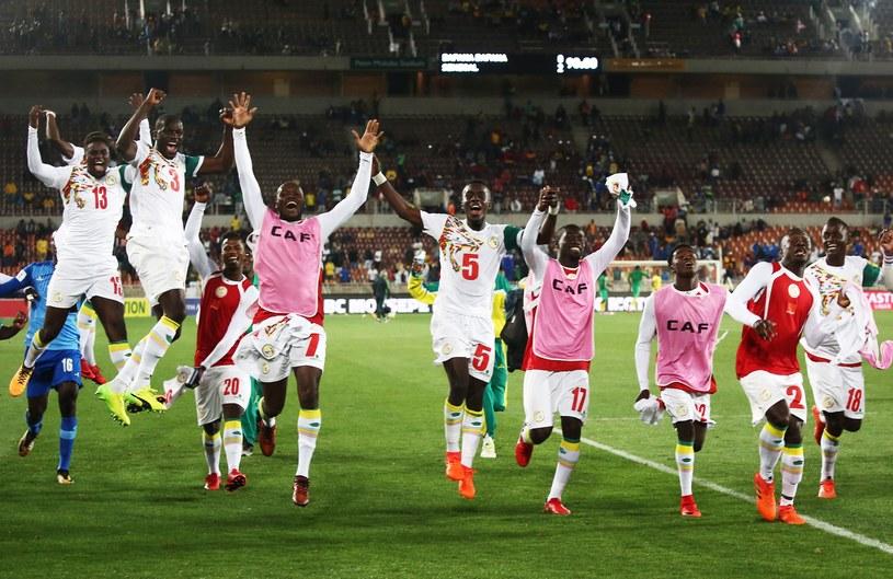 Radość piłkarzy Senegalu /AFP