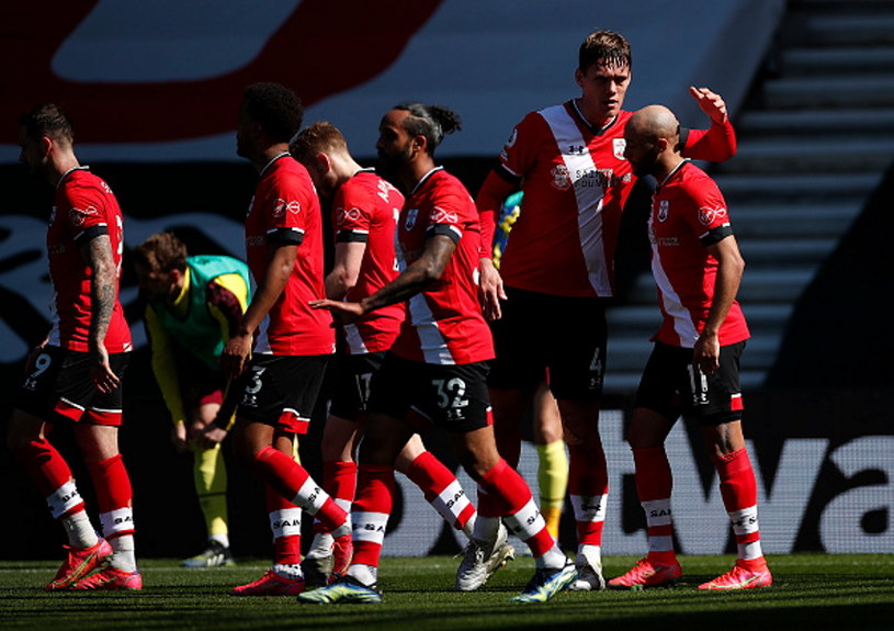 Radość piłkarzy Southampton /Andrew Boyers - Pool /Getty Images