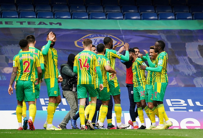 Radość piłkarzy West Bromwich /John Walton / POOL /Getty Images