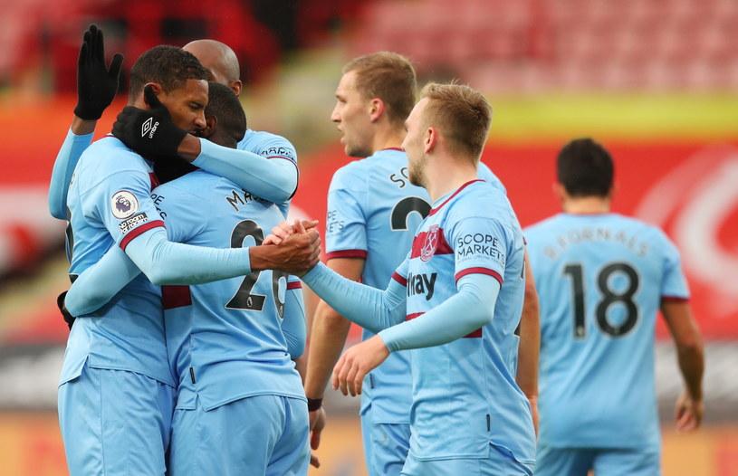 Radość piłkarzy West Ham United /Cath Ivill / POOL /PAP/EPA