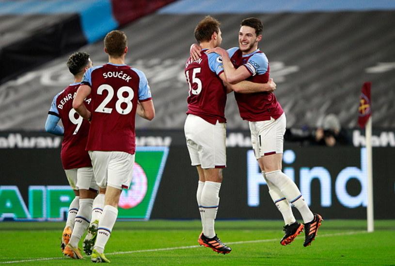 Radość piłkarzy West Hamu /Ian Walton - Pool /Getty Images