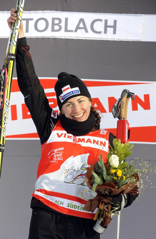 Radość po wygranym Tour de Ski /East News