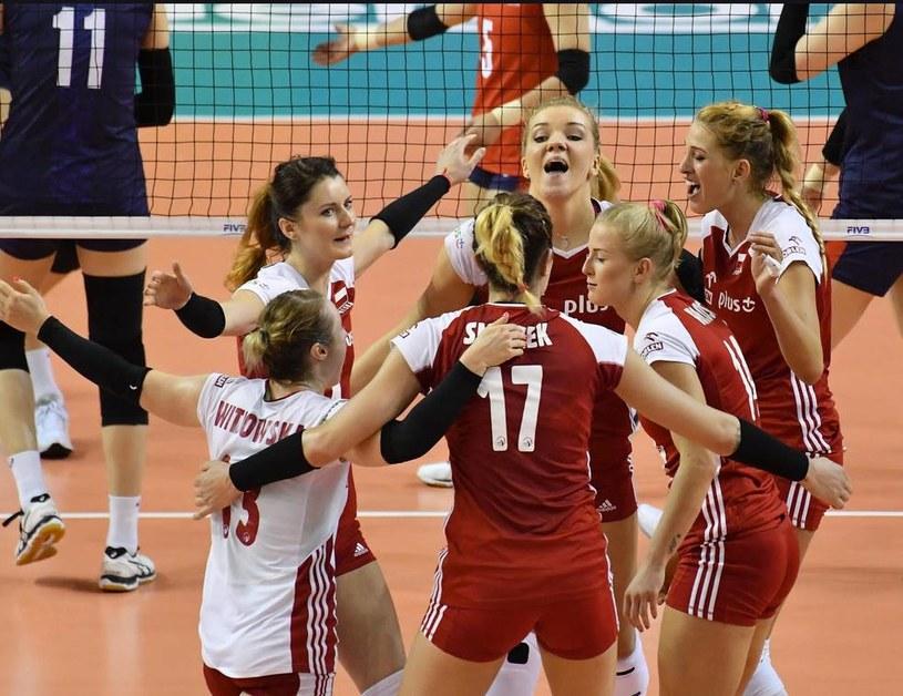 Radość polskich siatkarek; źródło: www.fivb.org /