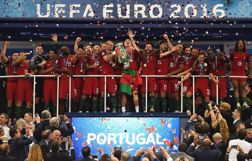 Radość reprezentacji Portugalii /AFP
