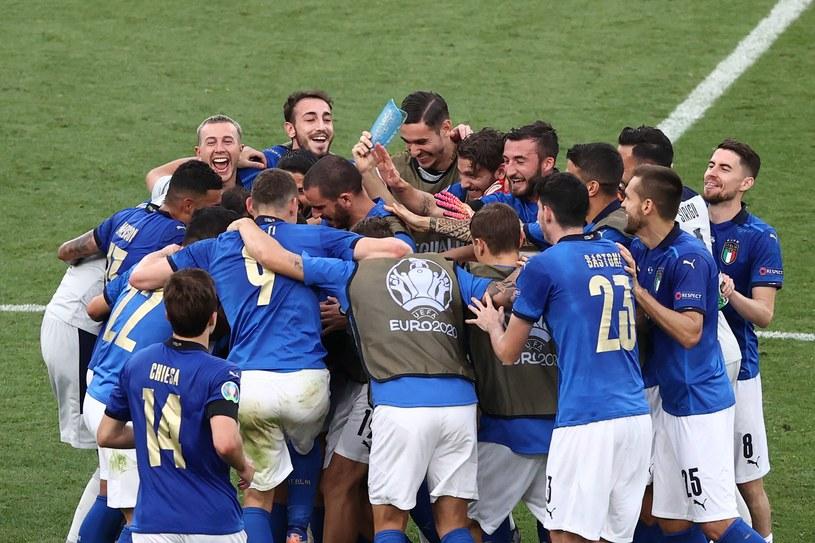 Radość reprezentacji Włoch /Ryan Pierse /AFP