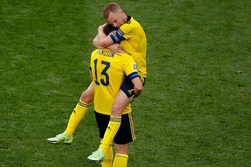 Radość szwedzkich piłkarzy /ANTON VAGANOV  /AFP