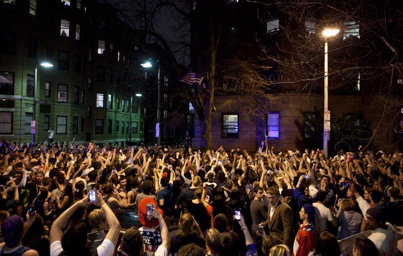 Radość w Bostonie po ujęciu podejrzanego o zamachy /AFP