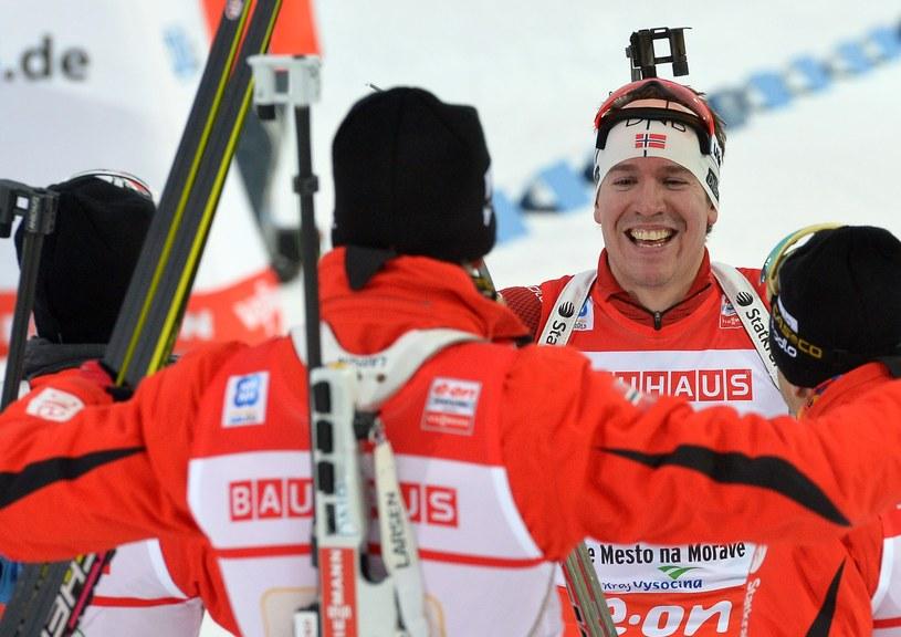 Radość w norweskiej ekipie /AFP