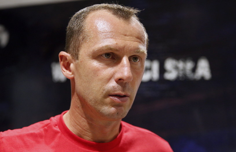 Radoslav Latal, trener Piasta /Andrzej Grygiel /PAP