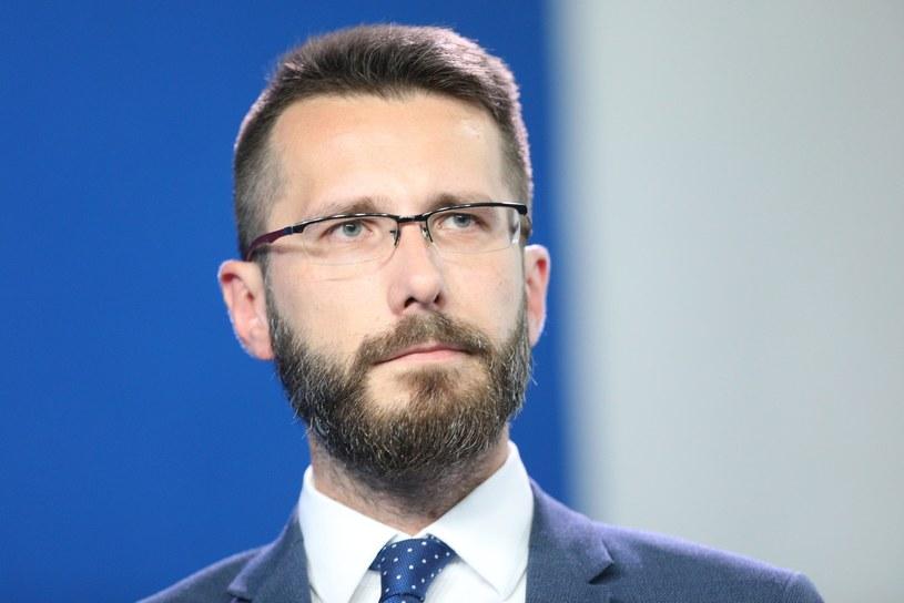 Radosław Fogiel, wicerzecznik Pis /Tomasz Jastrzębowski /Reporter