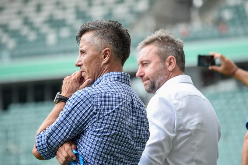 Radosław Gilewicz (z lewej) i Jerzy Brzęczek /Agnieszka Sniezko /East News