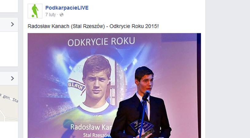 Radosław Kanach / Facebook /