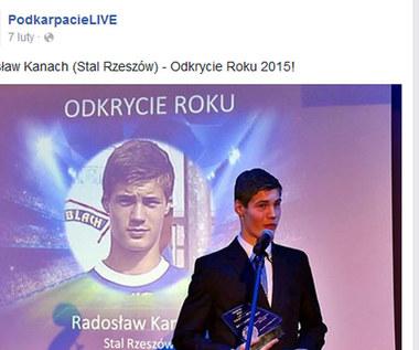 Radosław Kanach piłkarzem Cracovii