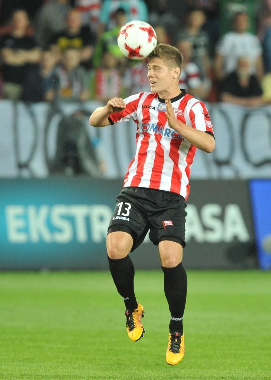Radosław Kanach z Cracovii strzelił jedynego gola dla polskiej reprezentacji /Michał Klag /East News