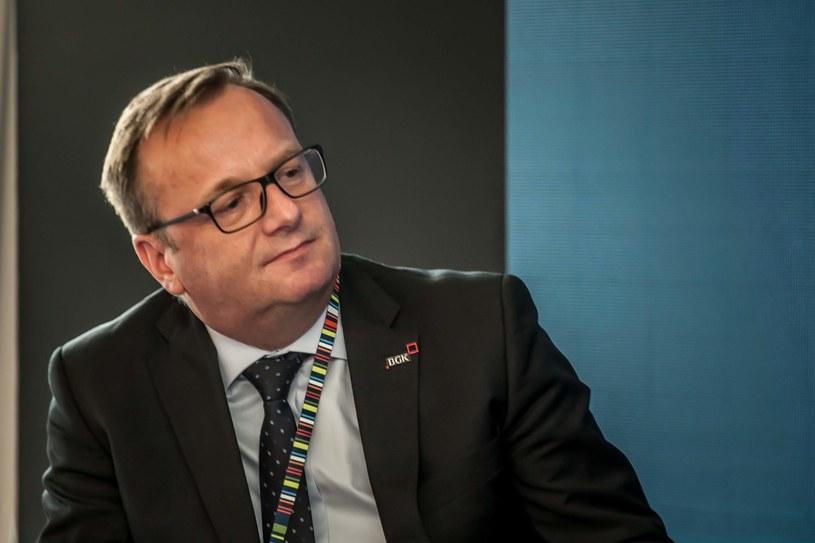 Radosław Kwiecień, członek zarządu BGK /INTERIA.PL