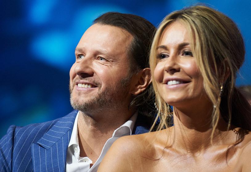 Radosław Majdan i Małgorzata /Bartosz Krupa /East News