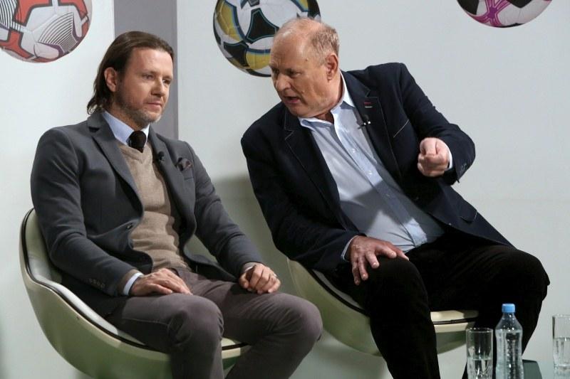 Radosław Majdan, Jan Tomaszewski (z prawej) /Agencja W. Impact