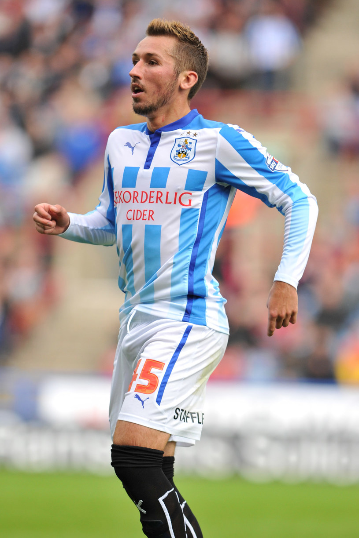 Radosław Majewski w barwach Huddersfield Town /Ryan Browne /Getty Images