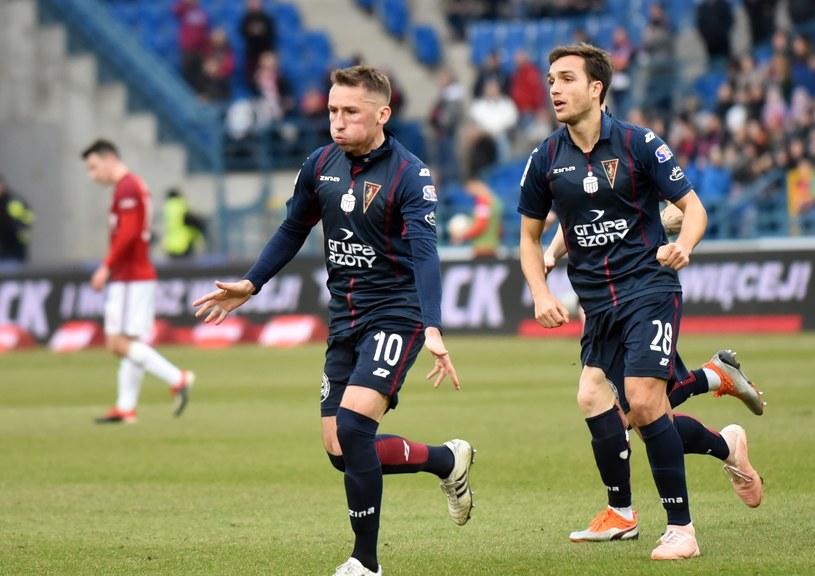 Radosław Majewski w meczu z Wisłą strzelił swojego trzeciego gola zza pola karnego w tym sezonie /Fot. Marek Lasyk/REPORTER /