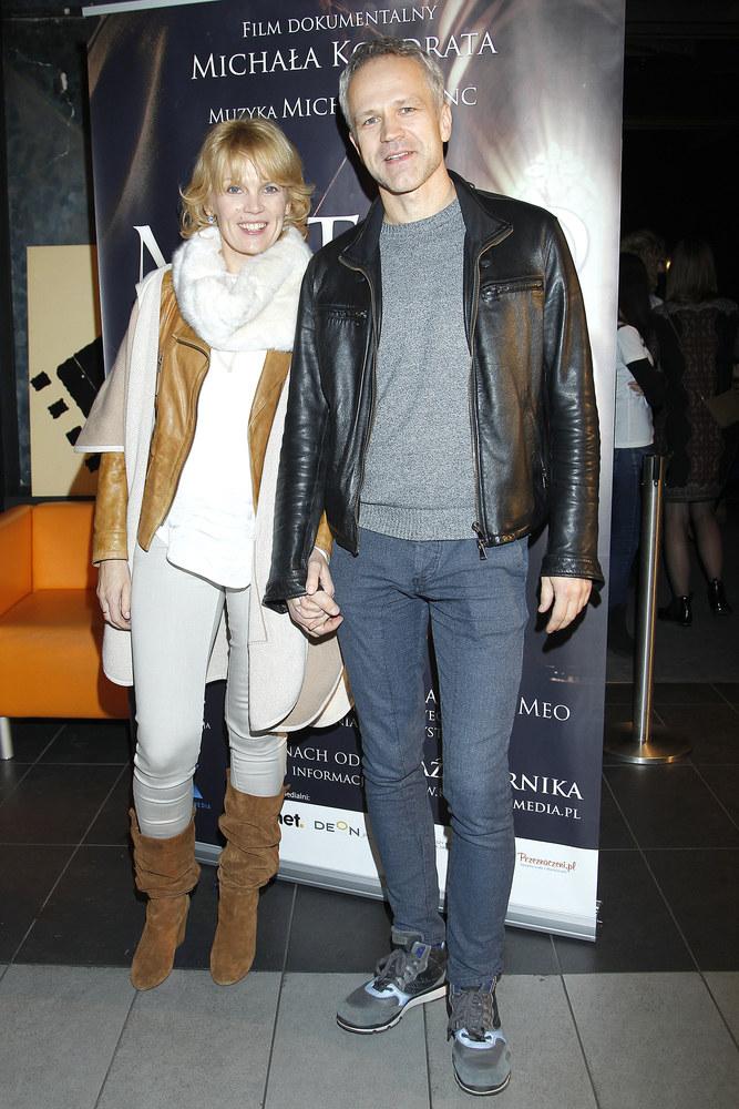 Radosław Pazura z żoną Dorotą /Podlewski /AKPA