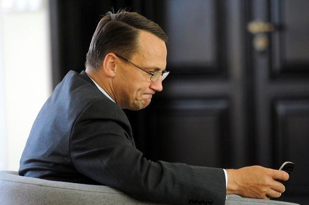 Radosław Sikorski, fot. Grzegorz Jakubowski /PAP