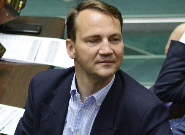 Radosław Sikorski Fot. Jakub Wosik /East News