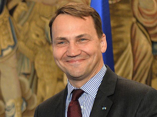 Radosław Sikorski korzystał z pomocy byłego ambasadora Wielkiej Brytanii /Janek Skarżyński /AFP
